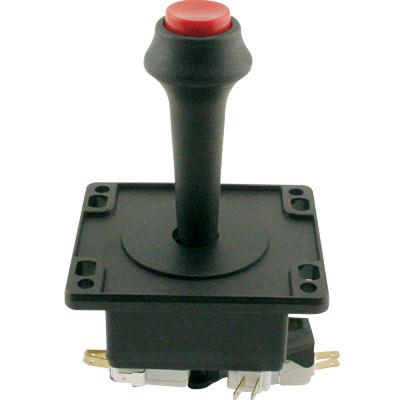 Black 4 Way Super Joystick W Top Fire Button 50 4000 10