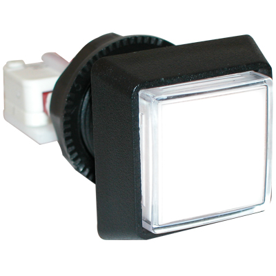 White Large Square Ipb W 250 Microswitch 161 D54 0004 31
