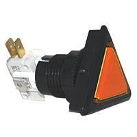 triangle illuminated pushbutton