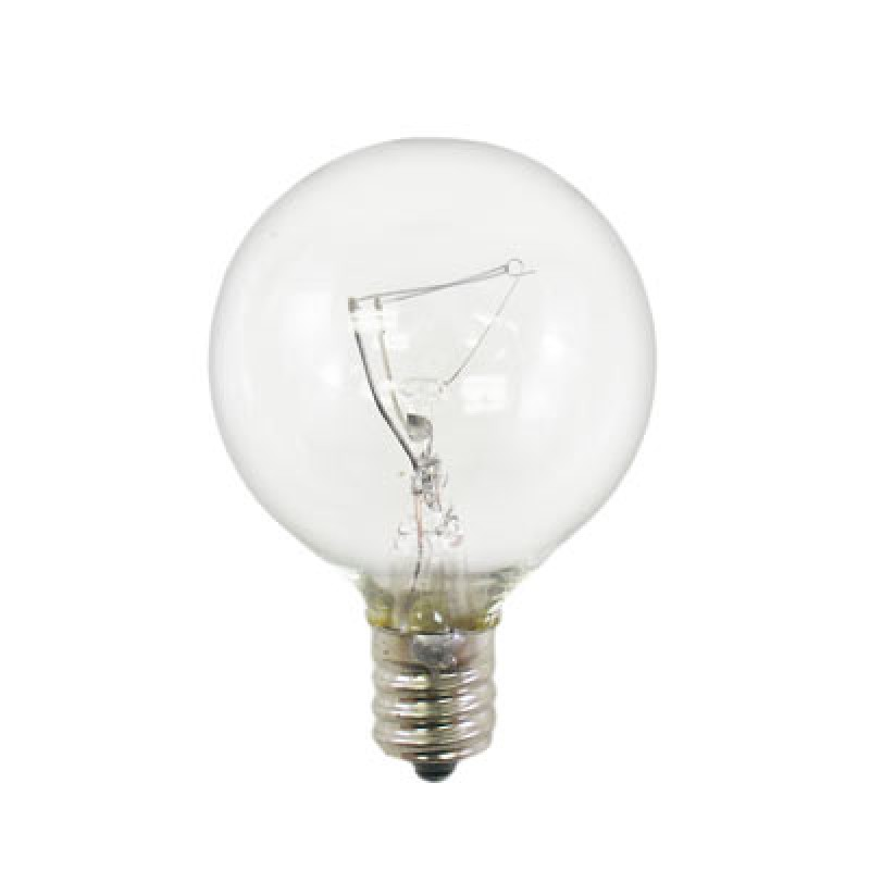 Type G Globe Light Bulb 4w 120v E12 Base 91 0863