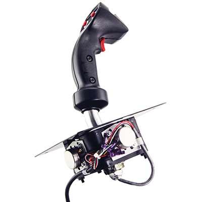 heavy duty analog trigger joystick w 100k s taper. Black Bedroom Furniture Sets. Home Design Ideas