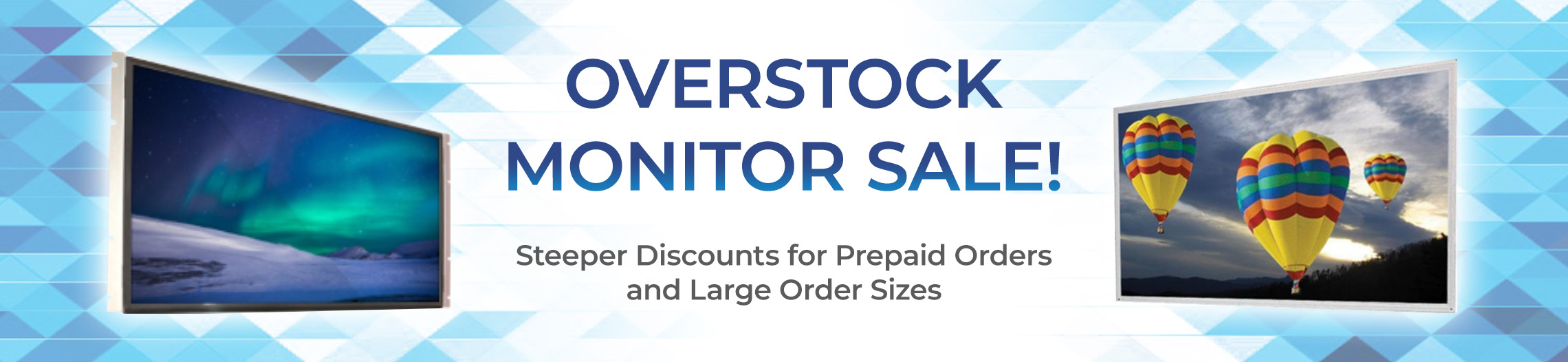 Overstock Inventory Sale