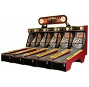 Skee Ball Alley 2011 Machine