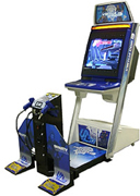 Virtua Cop 3 Deluxe Machine