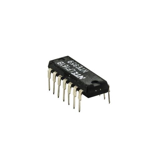 NTE859 IC-QUAD JFET INPUT OP AMP