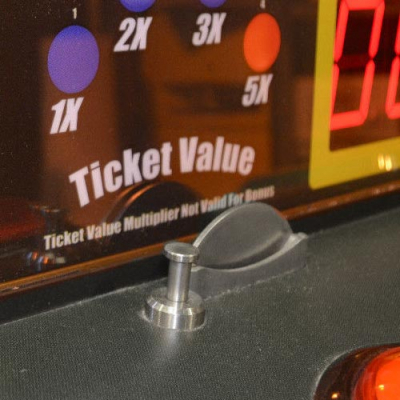 Coin Chute Entry for Roulette Twirl by Family Fun - 0070-001 - Item Photo