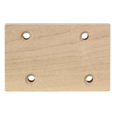 Wood Hinge Block for Valley Pool Tables - 010-0067-0 - Item Photo