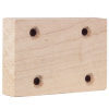 Wood Hinge Block for Valley Pool Tables - 010-0067-0