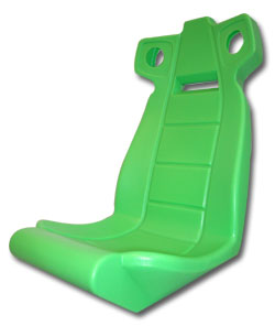 Molded Seat for Midway San Francisco Rush The Rock - 04-10630 - Item Photo