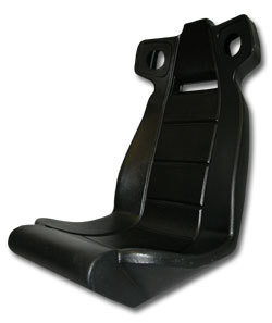 Molded Seat for Midway Rush 2049 - 04-12674 - Item Photo