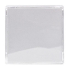 LENS CAP CLEAR LARGE SQUARE FOR SS214 PB - 09S001-01-AACL