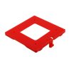 BRACKET MOUNTING CUBE HOPPER RED BASE - 10-0140