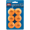 Orange Ping Pong Balls, 40mm, Pack of 6 - 178400-001