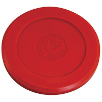 100013 - ICE fast track Red Hard Plastic Puck (2-3/4