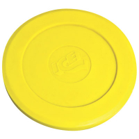 100014 - ICE Yellow soft plastic Puck