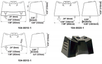 104-0020-1 - Universal Topper Flat Base Mounting Bracket