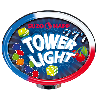 RGB Tower Light Topper with Standard Color Patterns - 104-08000 - Item Photo