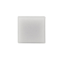 10S004-01-AAOL - SS212 small square pushbutton opal legend plate