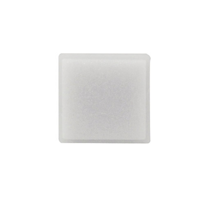 SS212 small square pushbutton opal legend plate - 10S004-01-AAOL - Item Photo