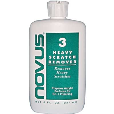 Novus #3 Cleaner & Polish, 8oz, 24 per Case - 25-1334-00 - Item Photo