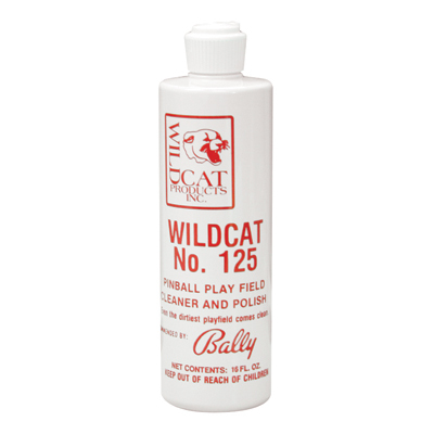 Wildcat #125 Cleaner & Polish (Pint Size) - 25-1333-00 - Item Photo