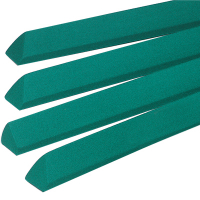 26-0408-00 - Penguin Covered Rail Set #101, Standard Green