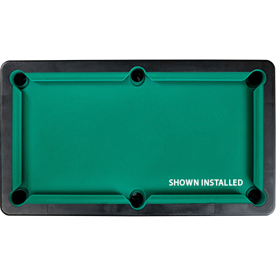 19 oz Table Pro Billiard Cloth, Unbacked - Basic green, Half Bolt - 26-0681-00 - Item Photo