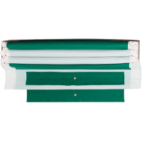 26-0682-00 - Table Pro, Basic Green, 19 oz., Pre- Cut Cloth, 7 Ft. Table, Backed