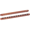 12 Cue Wooden Wall Rack - 26-1115-00