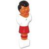 Red Man for Tournament Soccer, with Rounded Foot & Wide Shoulder - 26-1483-00