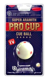 Aramith Pro Cup Training Cue Ball - 26-0124-00 - Item Photo