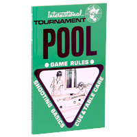 Tournament Pool International Rules Book - 26-0432-00 - Item Photo