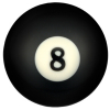 "2-1/4"" Professional 8-Ball - 26-1016-00"