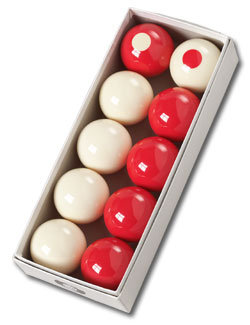 "Belgian ""Bumper"" Pool Ball Set - 26-1069-00 - Item Photo"