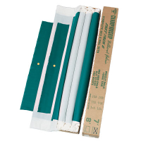 26-1276-00 - Championship Invitational, Basic Green, 21 oz., Pre-Cut Cloth, 7 Ft. Table, Backed
