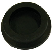 Black Rubber Leg Leveler Cup - 26-1528-00 - Item Photo