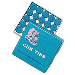 13mm Blue Knight Cue Tips - 26-1530-00 - Item Photo