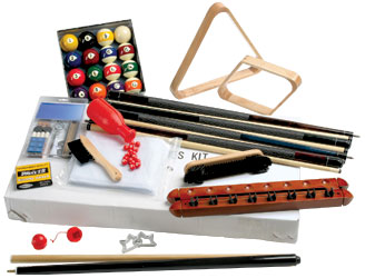 Oak Billiards Accessories Kit - 26-1779-00 - Item Photo