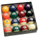 "Standard 2-1/4"" Pool Ball Set with 2-3/8"" Cue Ball - 26-2002-01"