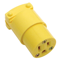 27-1004-00 - Eagle Thermoplastic Connector, Female, Straight Blade, 15AMP 125V 5-15R NEMA
