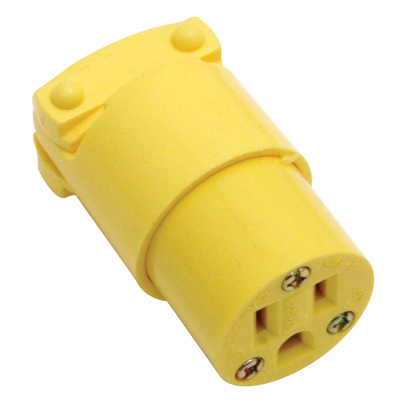 Eagle Thermoplastic Connector, Female, Straight Blade, 15AMP 125V 5-15R NEMA  - 27-1004-00 - Item Photo