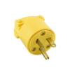 Eagle Thermoplastic Male Plug, 20AMP RATING 125V 5-20 NEMA - 27-1036-00