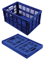 27-1038-00 - Collapsible Basket - Blue
