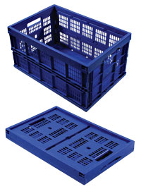 Collapsible Basket - Blue - 27-1038-00 - Item Photo