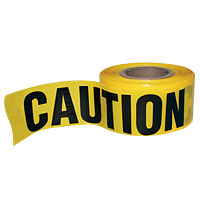 Caution Safety Tape - 27-1224-00 - Item Photo