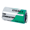 3.6V Lithium Battery with Tabs, 1/2AA Size - 27-1236-00