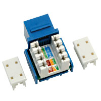 90° 110 Style Modular CAT5 Jack - 27-1350-00 - Item Photo