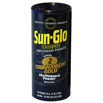 Sun-Glo #2 Tournament Gold Shuffleboard Wax - 29-0269-00 - Item Photo