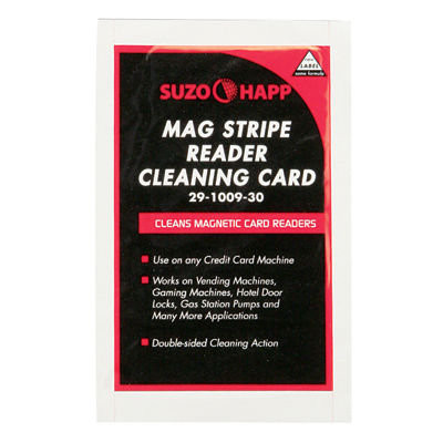SUZOHAPP Mag Stripe Reader Cleaning Card - 29-1009-30 - Item Photo