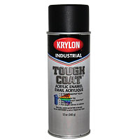 29-1013-04 - Krylon Spray Paint, Flat Black